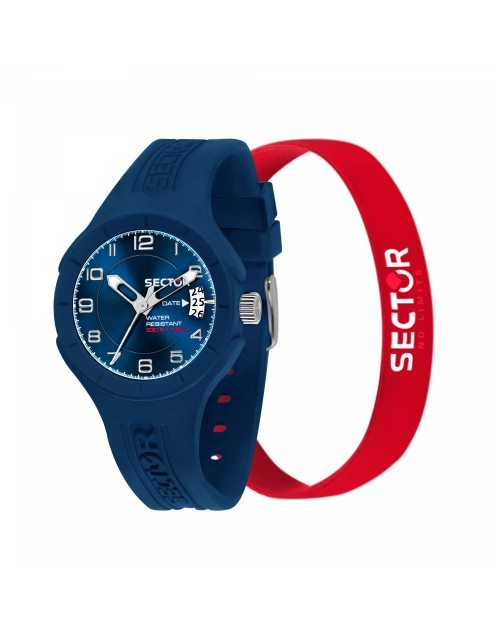 Orologio uomo solo tempo Sector Speed Blu + bracciale omaggio