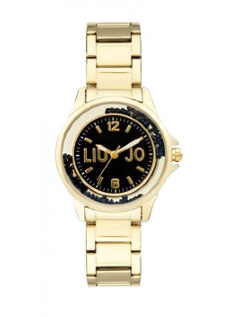 Orologio donna acciaio Dancing Steel Mini Gold black - Liu Jo Luxury