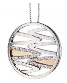 Collana donna Salvini Roma oro bianco con diamanti - SALDI