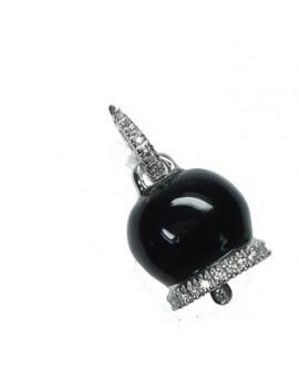 Ciondolo Campanella diamanti - Cicalese gioielli Valenza Made in Italy