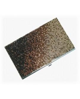 Portabiglietti da visita con cristalli Swarovski - Artisan jewelry - OUTLET € 85,00