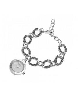 Orologio bracciale donna solo tempo  con cristalli - Ottaviani Watch