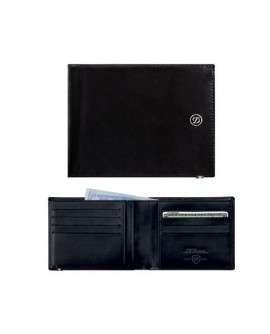 Portafogli carte di credito Ligne D Elysee pelle black - S.T.Dupont