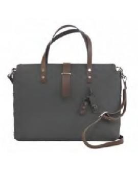 Briefcase E' Office Move grigio Borsa Unisex cm. 43x32x10 - Argenesi