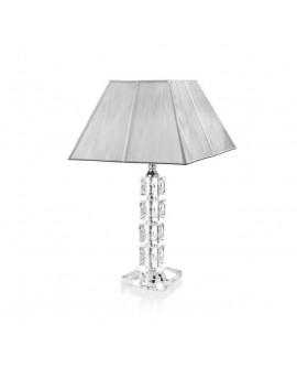 Lampada design Optical in cristalli H. cm. 43 - Ottaviani