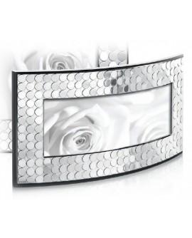 Portafoto Panoramica Paillettes argento - Ottaviani Home