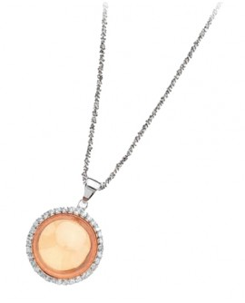 Collana pendente argento Sun - Ottaviani