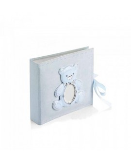 Album portafoto bimbo orsetto celeste - Ottaviani Home