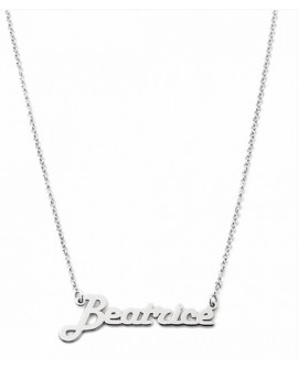 Collana personalizzata con nome Mi Racconto argento - Spedizione in 7 gg. lavorativi