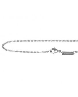 Catenina collana acciaio unisex per collezione Tres Jolie Mini cm. 48 - BrosWay