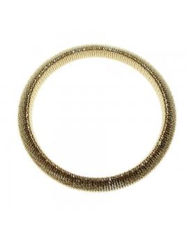 Bracciale donna bronzo elastico gold - Giodè i preziosi