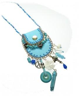 Collana donna Boho Chic Borsello - Le Carose - Toco d'encanto gioielli - OUTLET