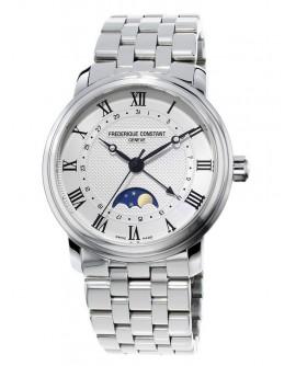 Orologio uomo solo tempo Frederique Constant Classic Moonphase Automatico Swiss Made