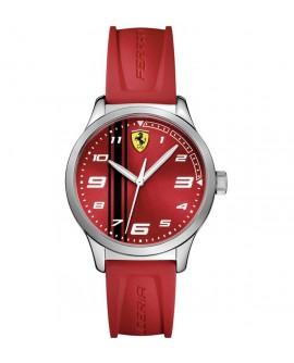 Orologio Solo Tempo uomo Scuderia Ferrari Pitlane red mm. 34 - Ferrari