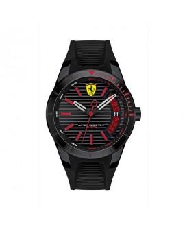 Orologio Solo Tempo uomo Ferrari  Red Rev black Scuderia Ferrari