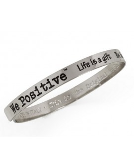 Bracciale unisex acciaio Friends canna di fucile - We Positive People