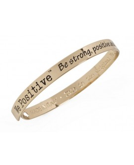 Bracciale unisex acciaio Friends gold - We Positive People