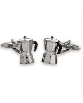 Gemelli uomo acciaio caffettiera - OX Gemelos