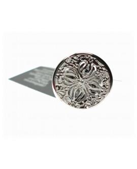 Anello donna mignolo acciaio bijoux misura unica Armonia - KèMiRA By Gianni Carità
