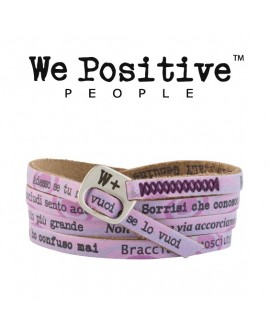 Bracciale unisex pelle My Song Nek - We Positive People