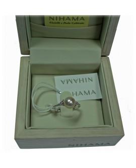 Anello perle Nihama 16 con diamanti 7,5/8