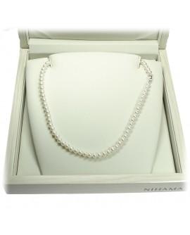 Collana girocollo Perle 5/5,5 oro - Nihama