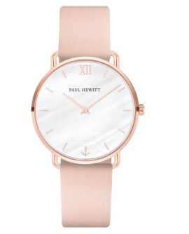 Orologio donna solo tempo Paul Hewitt Miss Ocean Line Rose Gold Pelle