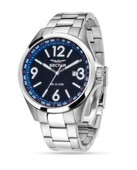 Orologio uomo solo tempo Sector 180 mm. 45 blu