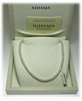Collana girocollo Perle 6/6,5 oro - Nihama