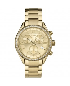 Orologio donna cronografo acciaio gold - Timex