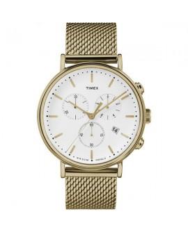 Orologio cronografo unisex acciaio gold Fairfield Chronograph - Timex