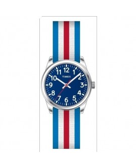 Orologio solo tempo bambino Time Machines blu-red-white - Timex