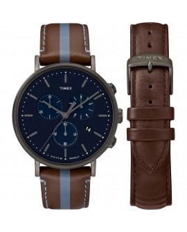 Orologio uomo Cronografo Fairfiled box set - Timex