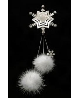 Fiocco di neve con visone - Skin Jewel Newd