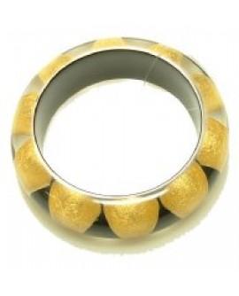 Bracciale resina e foglia d'oro - Unooro - OUTLET € 49,00