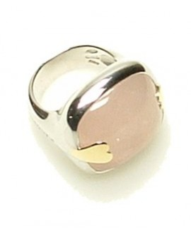 Love Drops anello quarzo rosa 16 - Pianegonda - OUTLET € 249,00