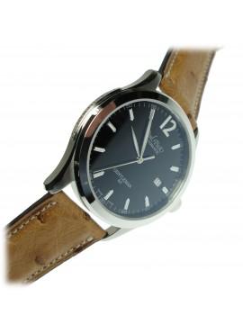 Orologio uomo solo tempo Paul Picot Gentleman 40 Automatico Black Swiss Made