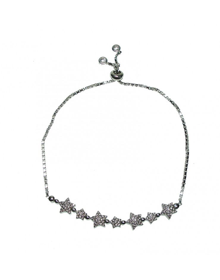 Bracciale donna Vanessa's Joy Carousel stelle in argento 925