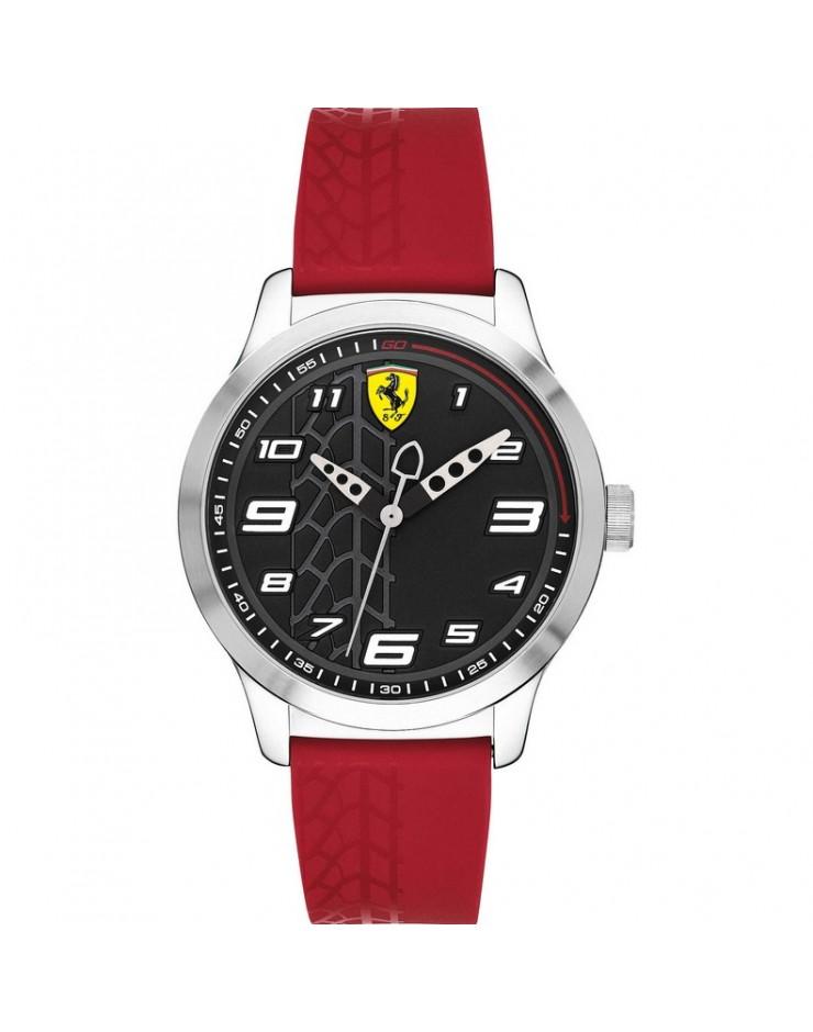 Orologio Solo Tempo uomo Pitlane Scuderia Ferrari mm. 34 Red Ferrari