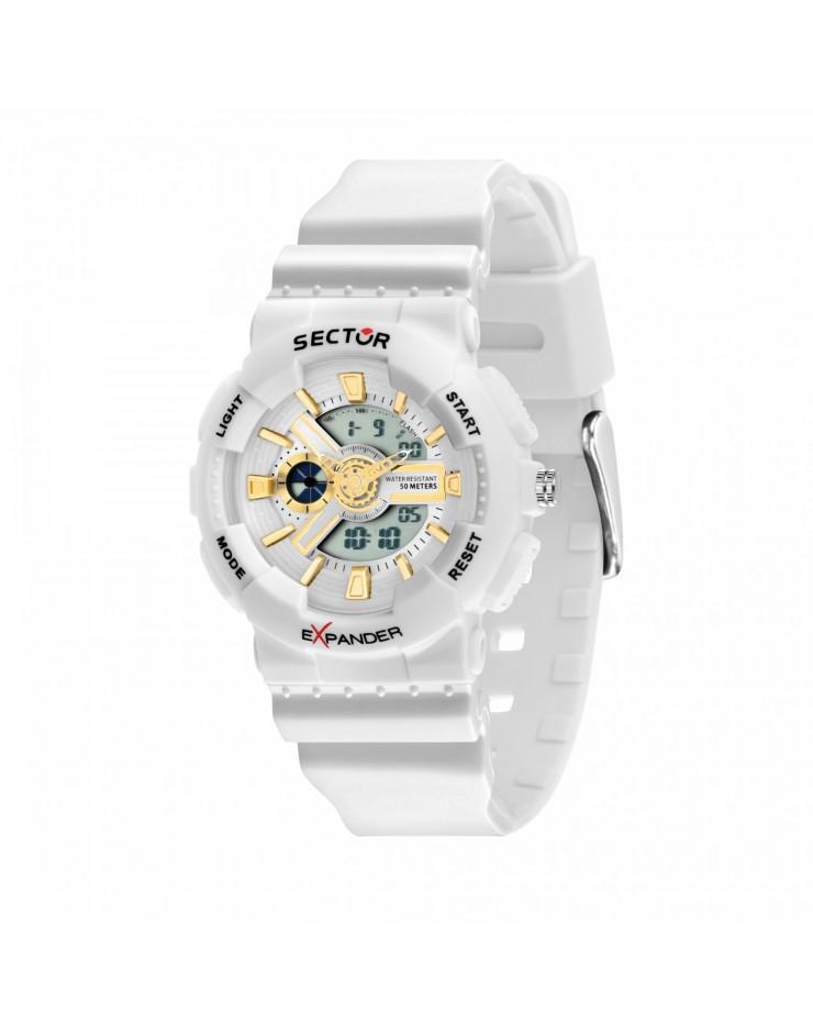 Orologio unisex Sector EX-15 Digitale Bianco