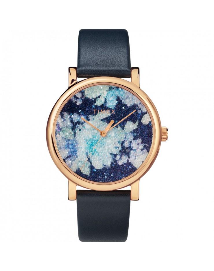 Orologio solo tempo donna Timex Elevated Classic Swarovski Crystal