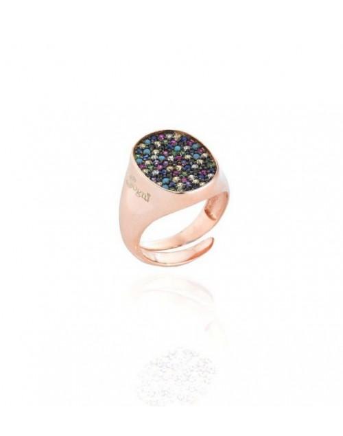 Anello donna Chevalier argento Sogni gioielli con zirconi multicolor