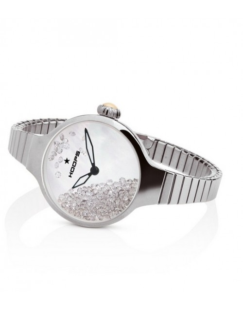 Orologio donna solo tempo Hoops Nuouveau Chèrie Rolling Stones Elastic Grey