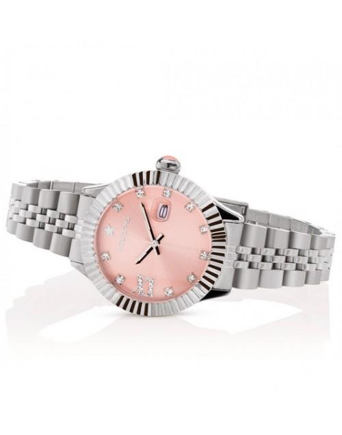 Orologio donna solo tempo Hoops New Luxury Diamond Cipria