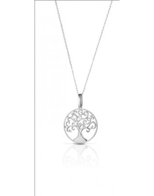 Collana donna argento Mediterraneo Albero della vita