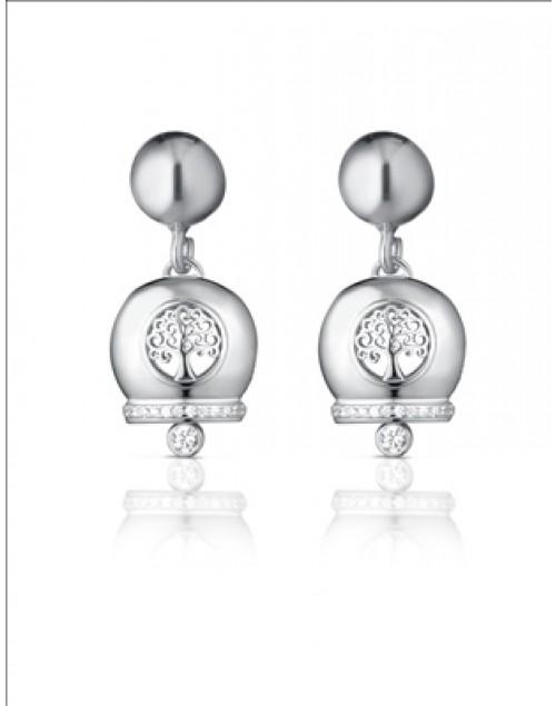 Orecchini donna argento Mediterraneo gioielli Campanella Romantica Albero della Vita