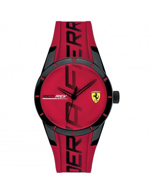 Orologio Solo Tempo uomo RedRev mm. 38 Red Scuderia Ferrari - Ferrari