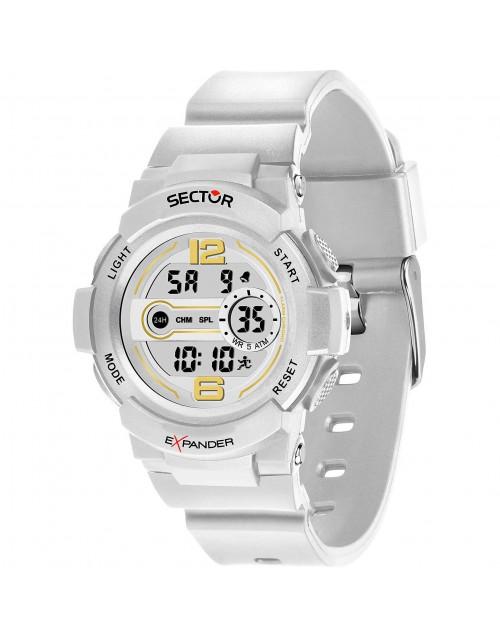 Orologio donna multifunzione digitale Sector EX-16 White