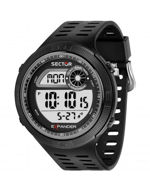 Orologio uomo multifunzione EX-42 Digitale Black