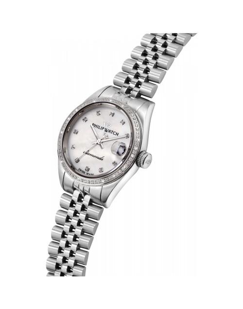 Orologio donna Solo tempo Philip Watch Automatico Caribe Automatico Swiss Made Madreperla con Diamanti